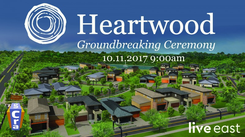 Heartwood Groundbreaking Ceremony to be held October 11