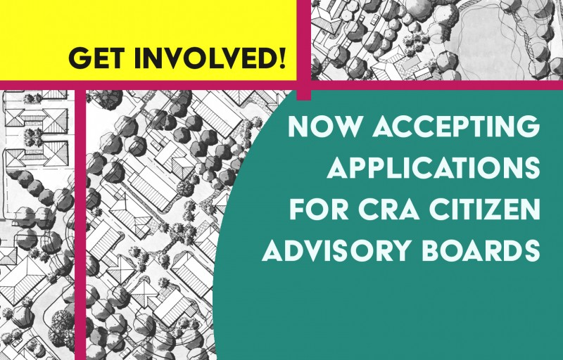 The CRA is Seeking Advisory Board Members!
