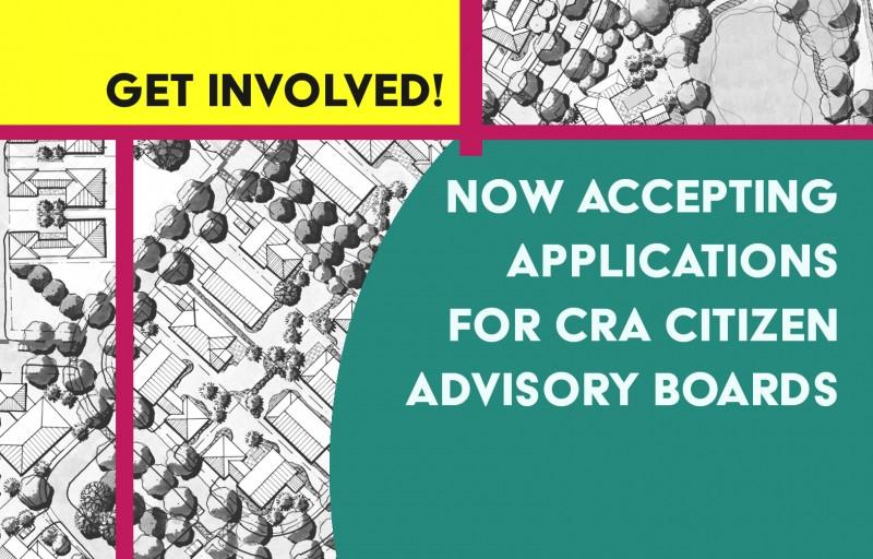 The CRA is Seeking Advisory Board Members!