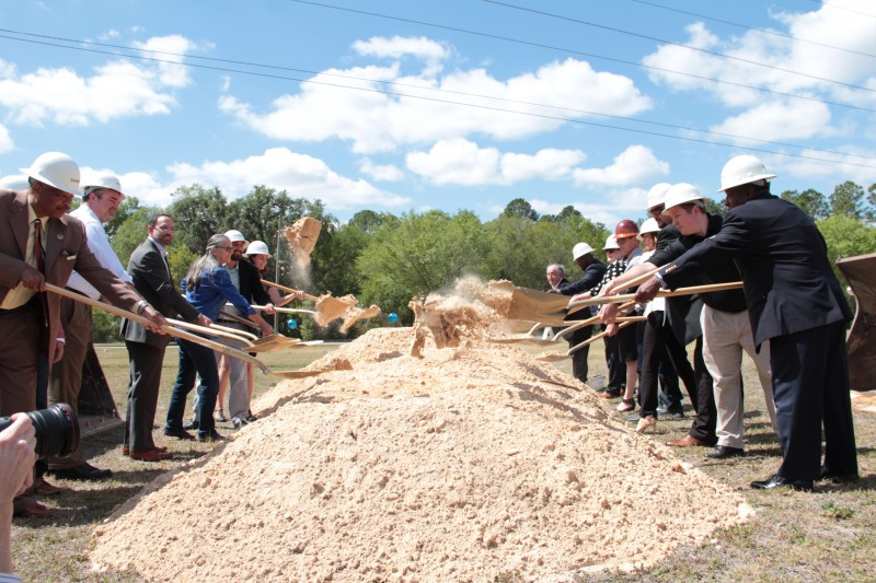 Cornerstone Groundbreaking Ceremony Signifies Growth in East Gainesville