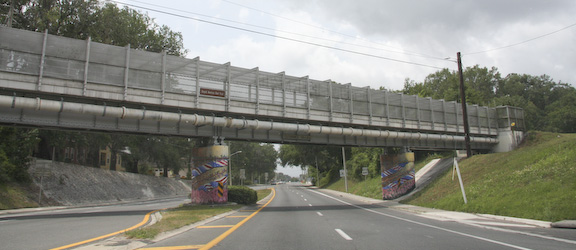 Helyx Bridge (13th Street Pedestrian Overpass Enhancement)