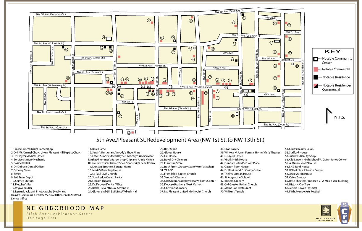 Fifth Avenue / Pleasant Street Heritage Trail