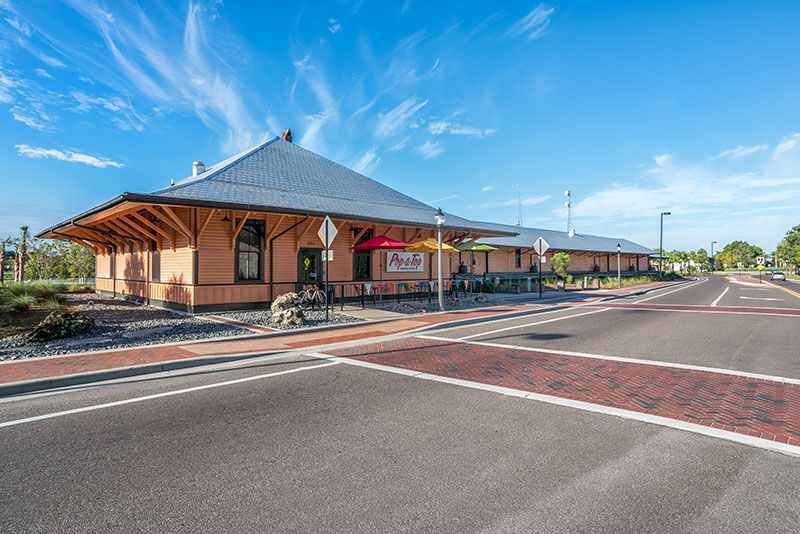 Depot Building Rehabilitation and Adaptive Reuse