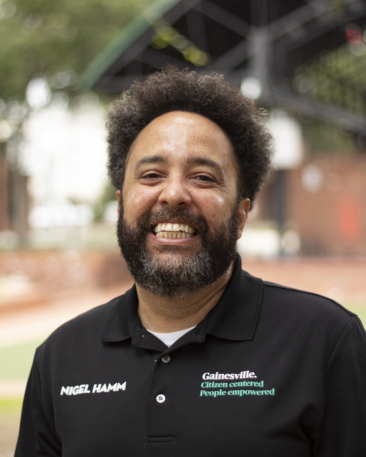 Nigel Hamm - Program and Event Coordinator